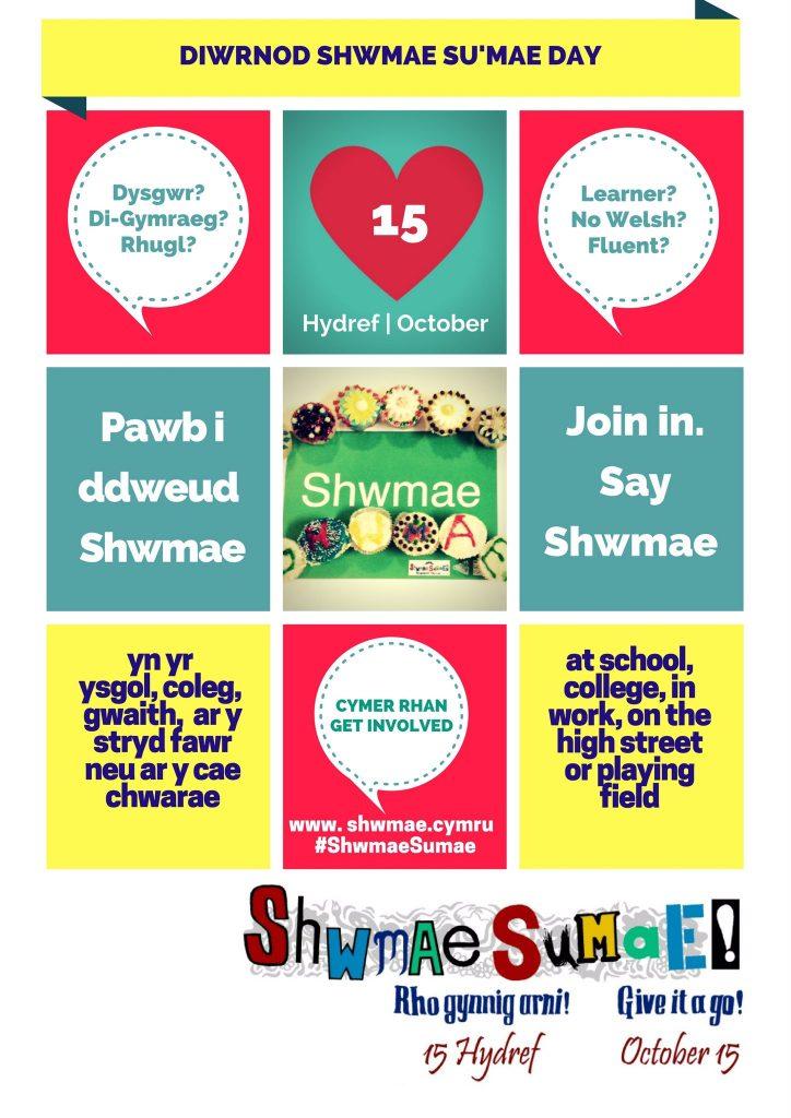 Poster shwmae 2016